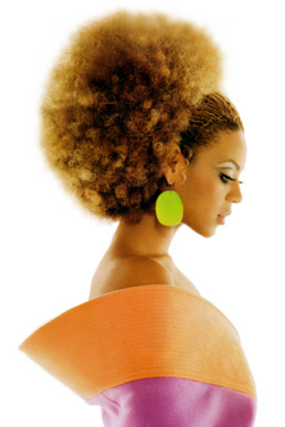 Sexy women with afros gairls smaller year